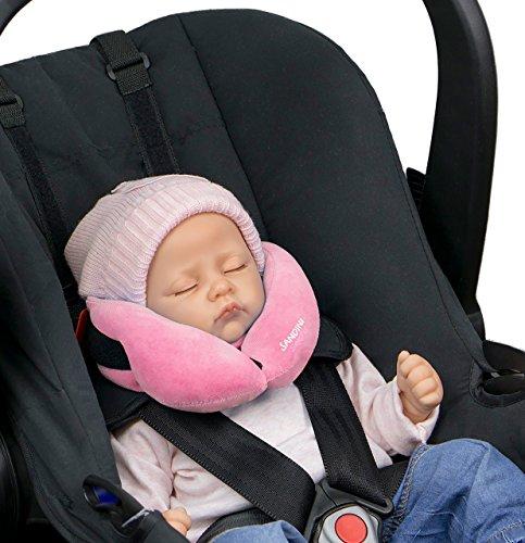 sandini sleepfix baby baby schlafkissen nackenkissen. Black Bedroom Furniture Sets. Home Design Ideas