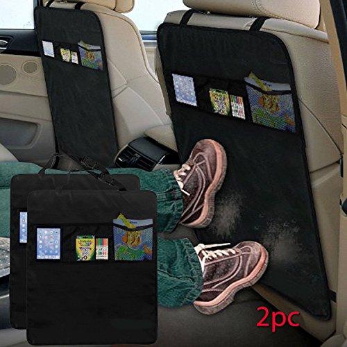 fineway set von 2 kick matte schutzfolie f r autositz 3 mesh taschen spielzeug aufbewahrung. Black Bedroom Furniture Sets. Home Design Ideas