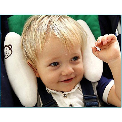 wei inchant einstellbare baby soft kopf hals support kinder kleinkinder verkehrsmittel auto. Black Bedroom Furniture Sets. Home Design Ideas
