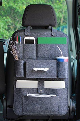 Auto Rücksitz Seite Organizer Ordnung Netz Aufbewahrungstasche Schutzhülle