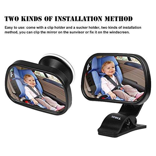 tioodre baby auto spiegel baby bruchsichere r ckspiegel. Black Bedroom Furniture Sets. Home Design Ideas