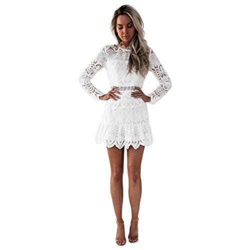 btruely kleid damen kurz elegant partykleid slim fit