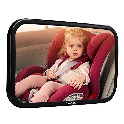 akapola r cksitzspiegel f r babys bruchsicherer auto. Black Bedroom Furniture Sets. Home Design Ideas